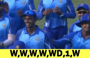 Abhimanyu Mithun grabs five wickets in an over