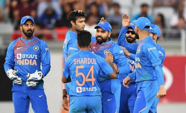 India Vs New Zealand T20 - 2020