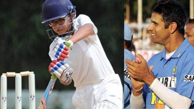 Rahul Dravid Son Samit Shines All-Round Show