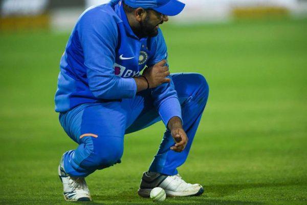 Rohit Sharma Injury Vs Australia Pic