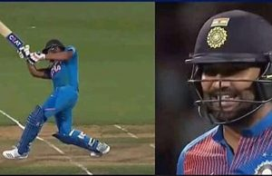 Rohit Sharma whacks consecutive sixes off Tim Southee to win super over in Hamilton T20I