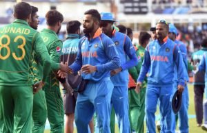 Team India With Asia Cup