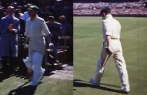 Colour Footage Of Don Bradman Batting At Sydney Cricket Ground