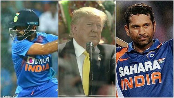 Donald Trump Gives Special Shout Out To Sachin Tendulkar and Virat Kohli