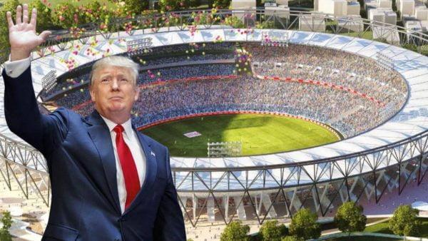 Donald Trump will not inaugurate the Motera cricket Stadium