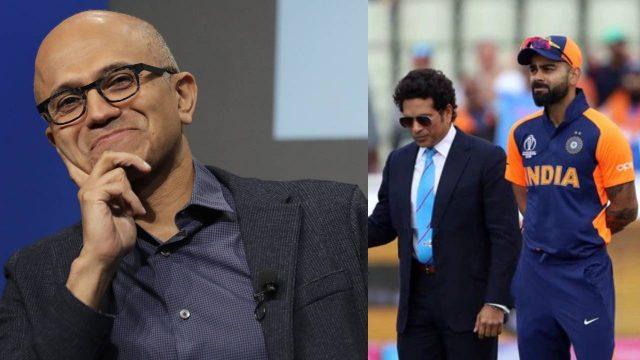 Microsoft CEO Satya Nadella Reveals His Favourite Cricketers