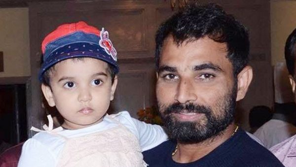 Mohammad Shami With His Daughter Aaira Shami