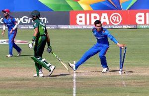 Afghan spinner Noor Ahmad mankads in under19 cricket World Cup