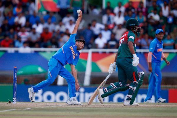 Ravi Bishnoi in U19 Cricket World Cup 2020