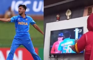 Ravi Bishnoi mother does her bit by cheering her son during U19 World Cup final