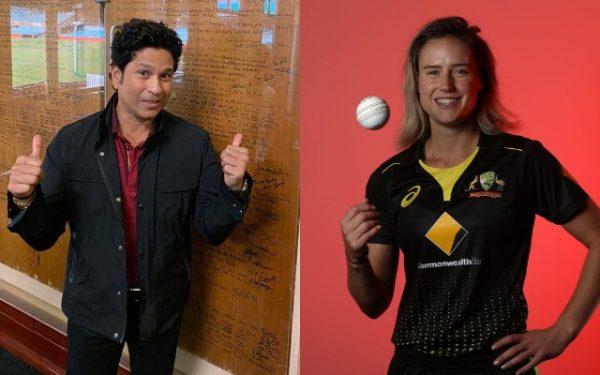 Sachin Tendulkar and Ellyse Perry