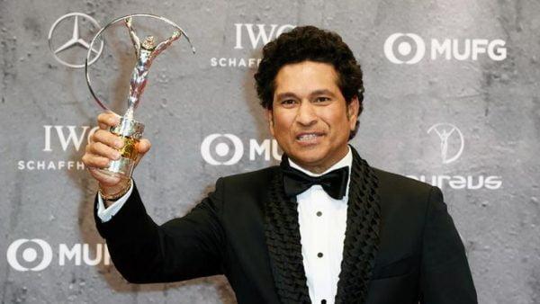 Sachin Tendulkar wins Laureus Sporting Moment award for 2011 World Cup triumph