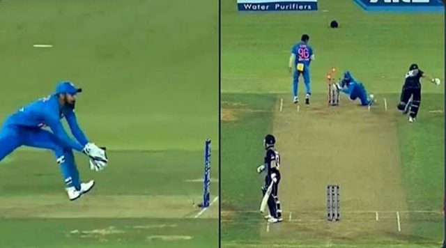 Sanju Samson and KL Rahul join hands to smartly run-out Tom Bruce