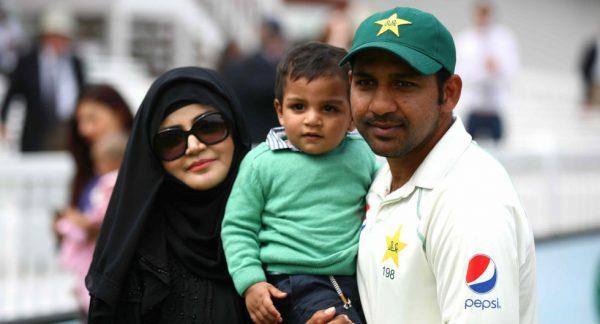Sarfaraz Ahmed Famaily Pic