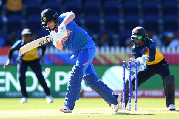 Shafali Verma hits boundary from behind the stumps vs Sri Lanka in Women's T20 World Cup 2020
