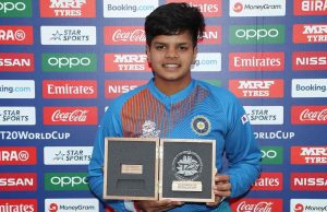 16-Year Old Shafali Verma Grabs No.1 Spot In T20I Rankings