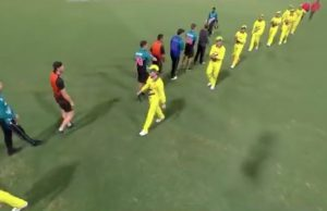 Australia-New Zealand Players Avoid Customary Handshake After 1st ODI MATCH