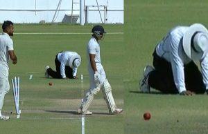 C Shamshuddin gets injured in Ranji Trophy final
