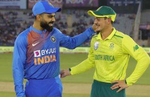 India vs South Africa ODI Series Called Off Coronavirus Outbreak