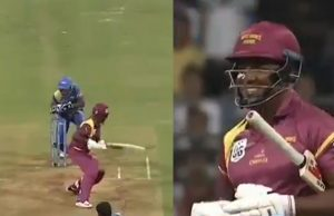 Irfan Pathan gets Brian Lara stumped in Road Safety World Series