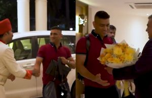 MS Dhoni gets a grand welcome in Chennai ahead of IPL 2020