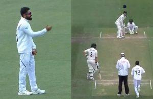 Virat Kohli bowls slow-medium pace in Christchurch Test