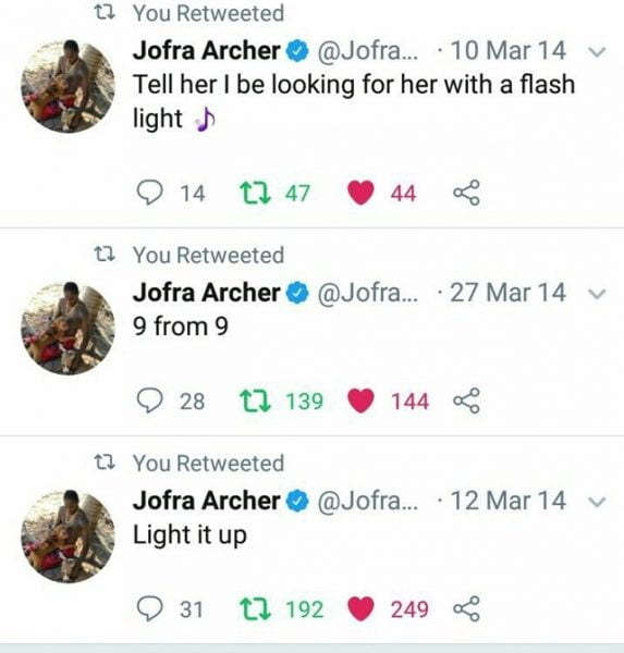 Jofra Archer's old tweets go viral after PM Modi's call to turn off lights, flash candles