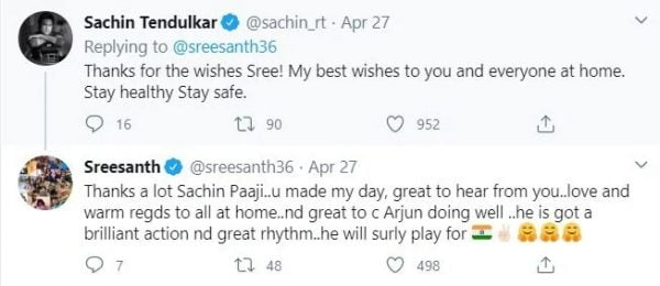 Sreesanth Makes Prediction on Arjun Tendulkar's Cricket Future