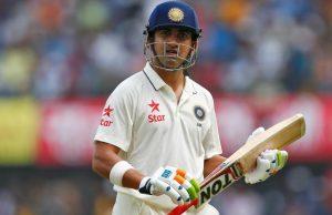 Gautam Gambhir named his all-time Test XI
