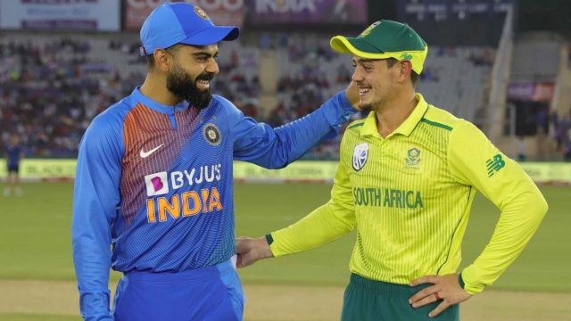 India Likely To Tour South Africa For T20I Series In August