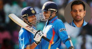 Rohit Sharma on Sachin and Sehwag