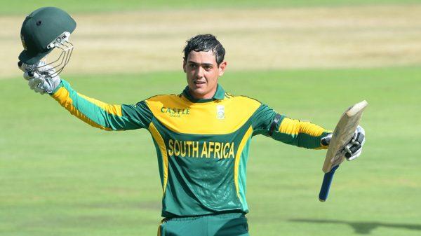 Who Break Sachin Tendulkar's 49 ODI Centuries Record - Quinton de Kock