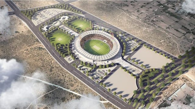 Jaipur to have the world's 3rd largest cricket stadium with a capacity of 75000