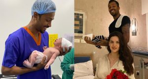 Hardik Pandya Reveals Name Of His Newborn Baby