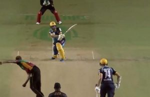 Rashid Khan Awesome Sixer in CPL
