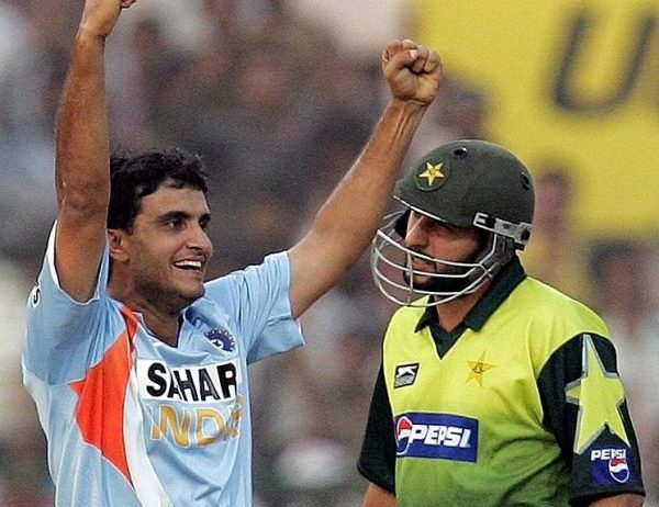 Saurav Ganguly and Shahid Afridi - All Time ODI XI Of Great Cricketers Who Never Won A World Cup