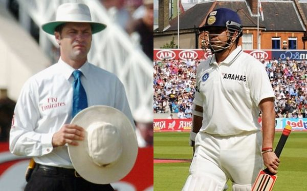 Simon Taufel reveals how Sachin Tendulkar reacted after wrongly given out in 90s