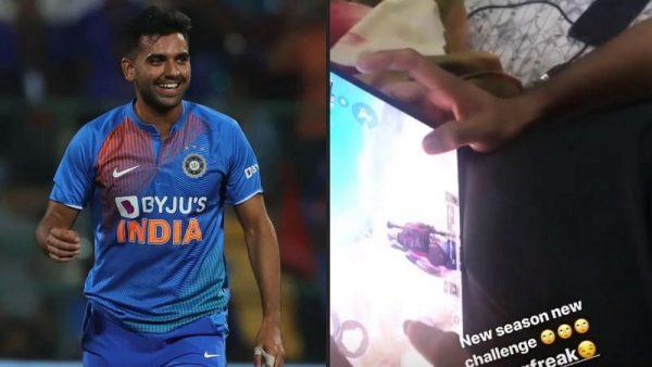 Indian cricketers affect PUBG ban - Deepak Chahar