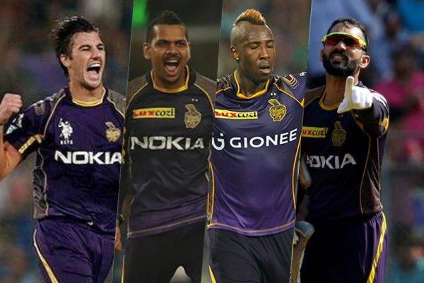 Kolkata Knight Riders - Who Majorly Depend On Overseas Players