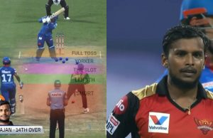 Natarajan Yorker Delivery vs Delhi Capitals in IPL 2020
