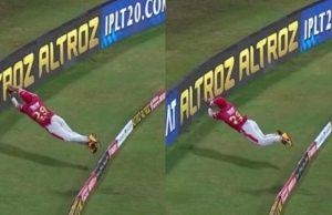 Nicholas Pooran's sensational fielding effort in IPL 2020