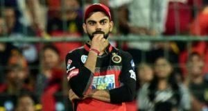 RCB Captain Virat Kohli fined RS 12 lakh