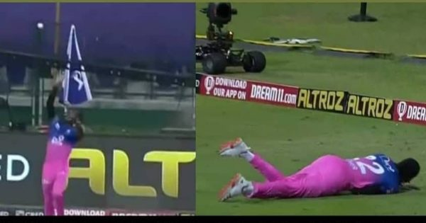 Jofra Archer has taken the catch of the IPL 2020