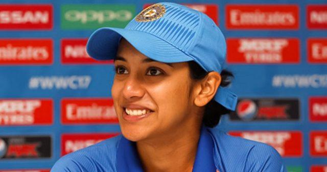 Smriti Mandhana discloses the names of cricketers whom she is cheering