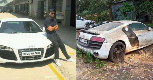 why Virat Kohli's first Audi car is lying in the police station