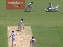 Rohit Sharma's Brilliant Catch vs Australia 2021
