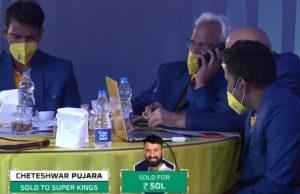 Cheteshwar Pujara and CSK
