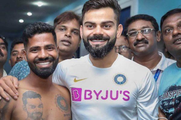 Fan Breaches Security To Meet Virat Kohli In The Third Test Match