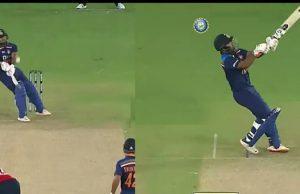 Rishabh pant reverse sweep vs Jofra Archer