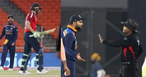 Virat Kohli and Jos Buttler engage in heated verbal exchange